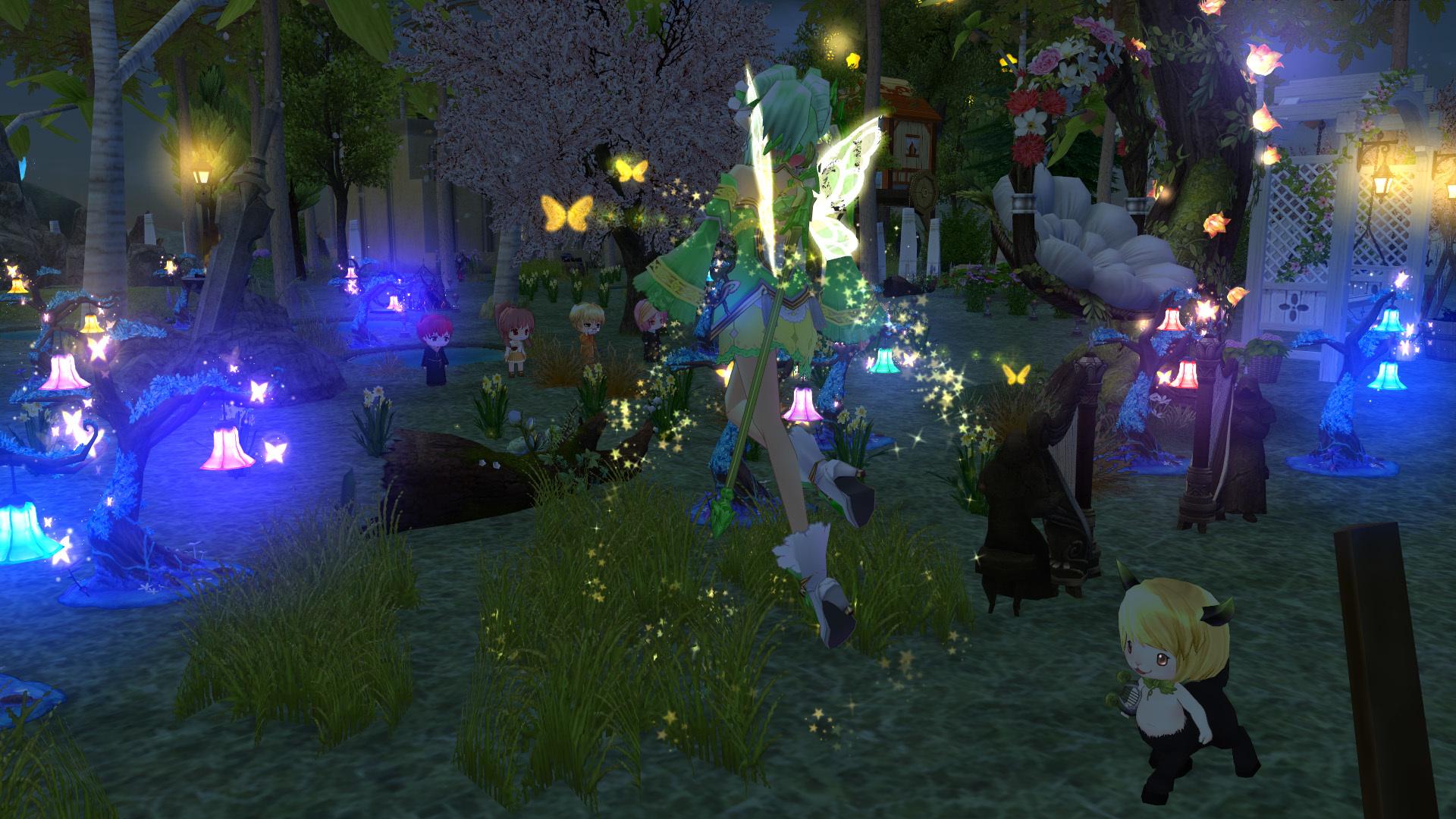 妖精フローラの イエローウィング6