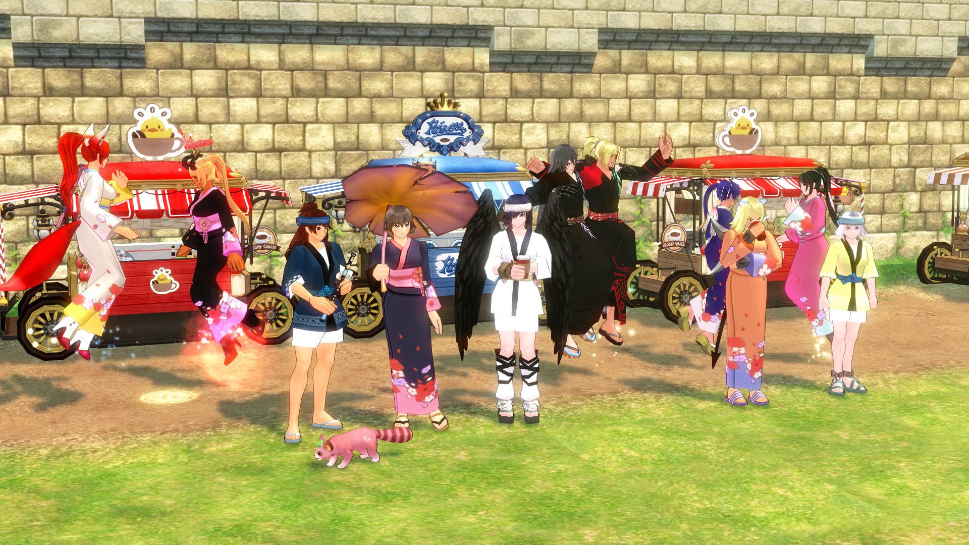 夏祭りイベント予告撮影07