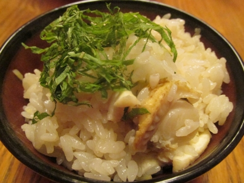 ホタテご飯1