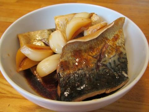 ゴマサバの大蒜煮2