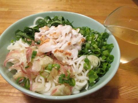 焼きアカムツの涼麺3