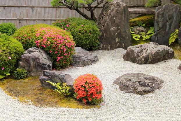 興臨院庭園・入江の意匠
