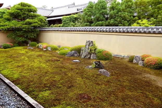 龍源院庭園・全景
