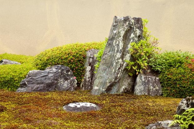 龍源院庭園・枯滝石組