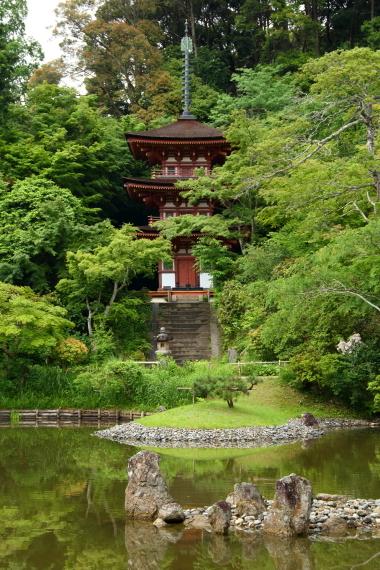 浄瑠璃寺・三重塔