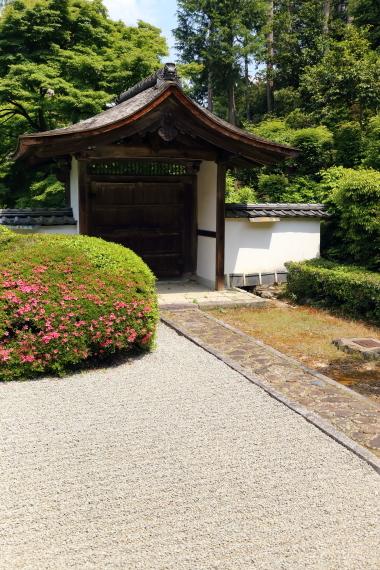 正伝寺庭園・門