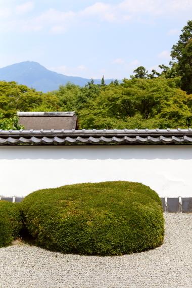 正伝寺・庭園と比叡山