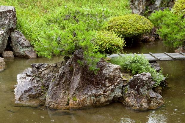 浄信寺庭園・亀島