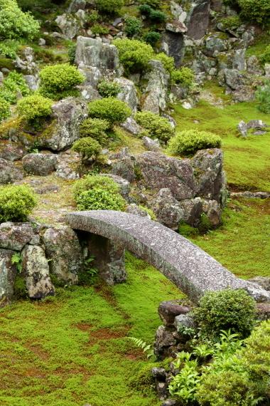 青岸寺庭園・石橋