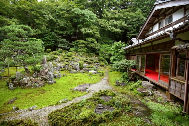 青岸寺・書院と庭園