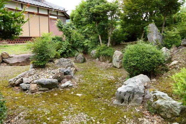 理覚院・庫裡と庭園
