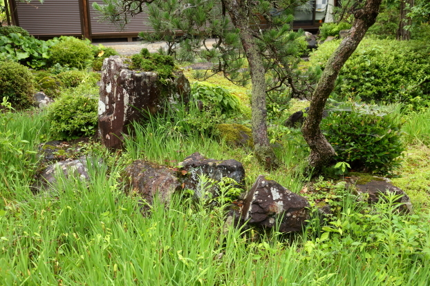 池氏庭園・亀島