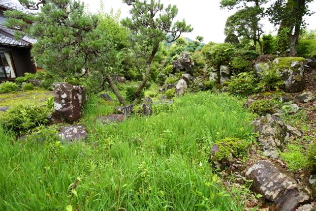 池氏庭園・南西部からの景観