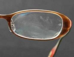 メガネ汚れ