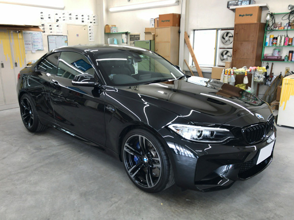 BMW M2@スーパープラチナガラスコート