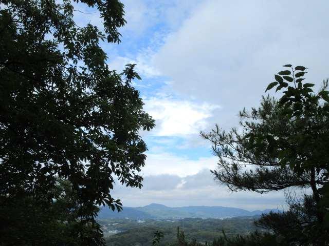 IMG0001JPG青空が出た古処山方面