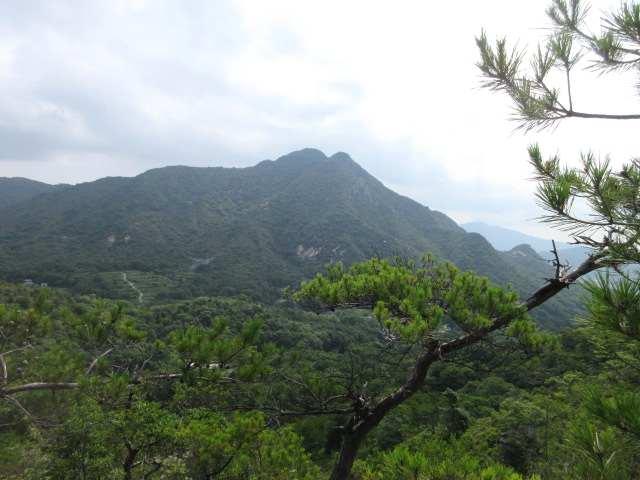 IMG0035JPG右田ケ岳を右に見ながら