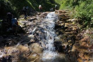 赤木沢ナメ滝