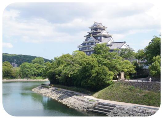 岡山城1(1)
