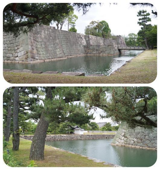 二条城10(1)(城内から内堀)