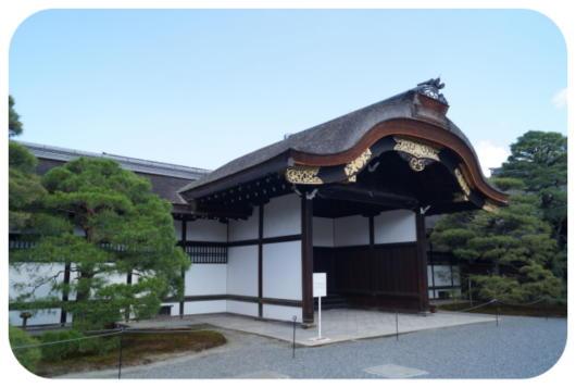 京都御所3(御車寄)(1)