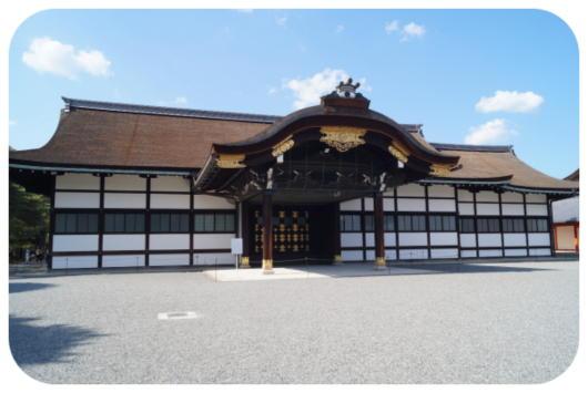 京都御所5(新御車寄)(1)