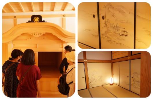 名古屋城26(湯殿・黒木書院)(1)