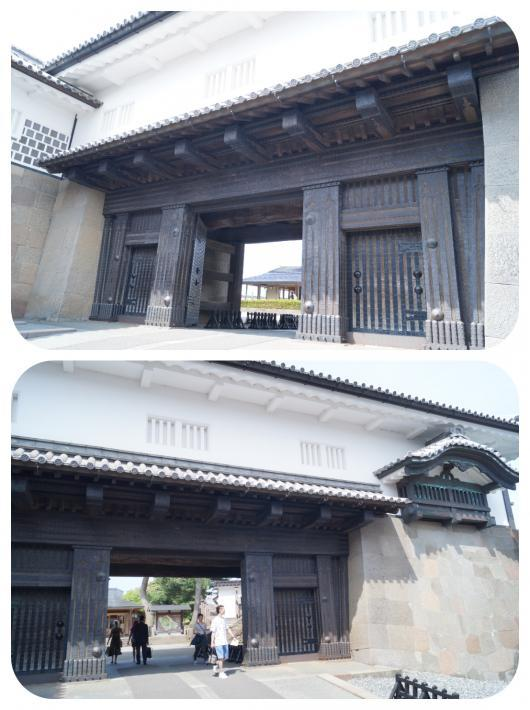 金沢城4石川門(1)
