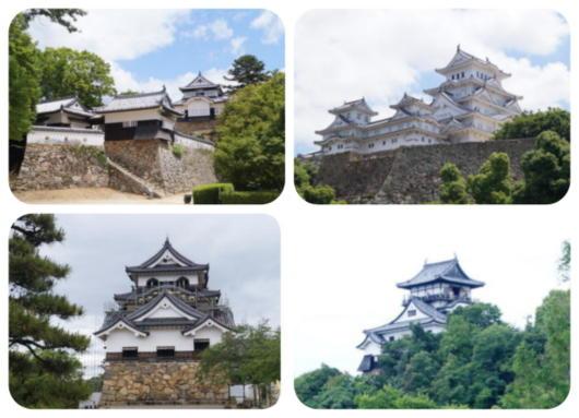 2備中松山・姫路・彦根・犬山城(1)
