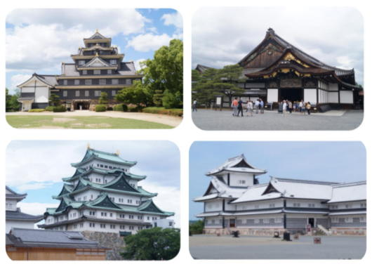 4岡山・二条城・名古屋・金沢城(1)