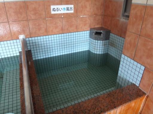 温い水風呂