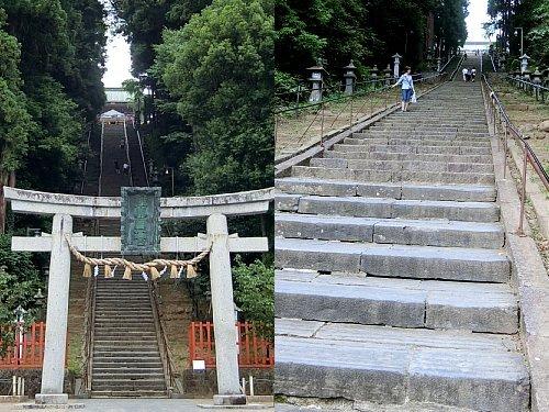 塩竈神社・階段1