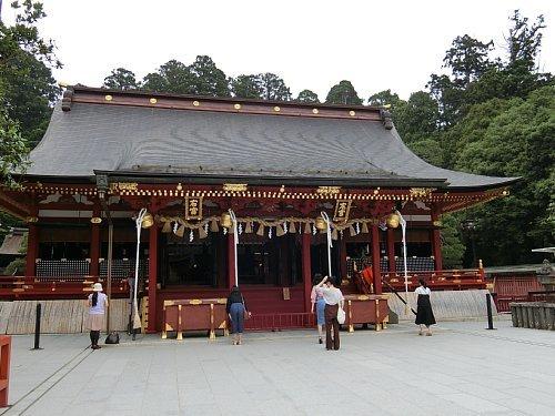 塩竈神社-左右宮拝殿