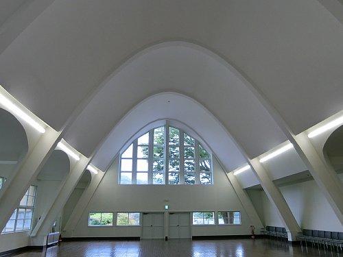 旧塩竈市公民館・講堂1