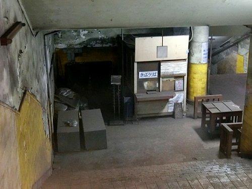 旧博物館動物園駅・改札