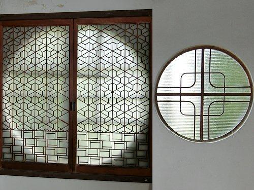 亀井邸・丸窓