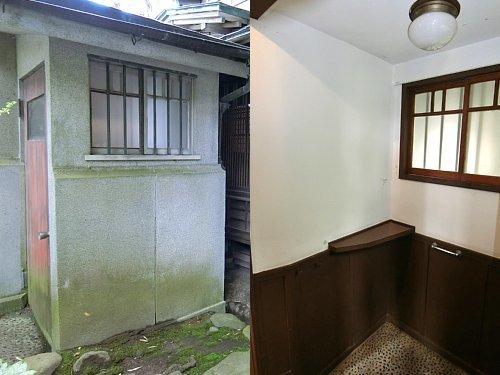 亀井邸・内玄関