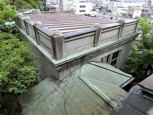 亀井邸・洋館屋根