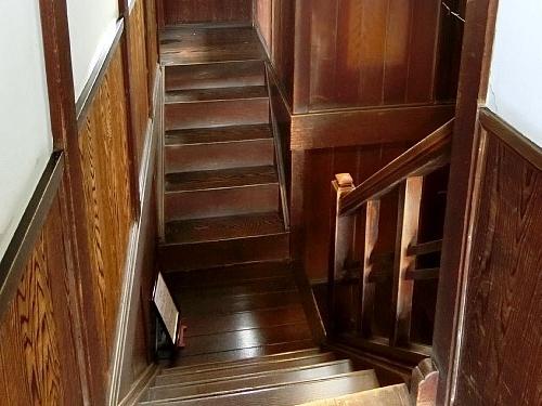亀井邸・階段