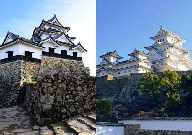 彦根城・姫路城