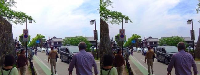 彦根城 京橋①(交差法)