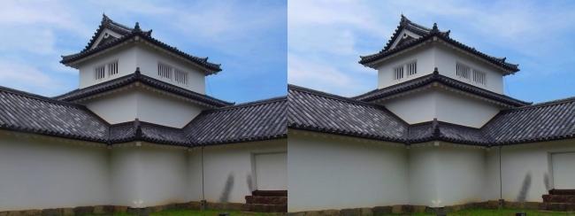 彦根城 西の丸三重櫓①(平行法)