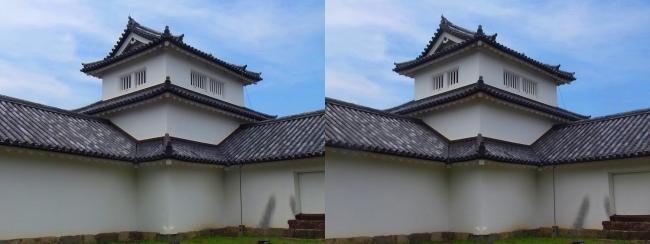 彦根城 西の丸三重櫓①(交差法)