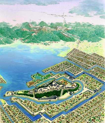 彦根城と佐和山城