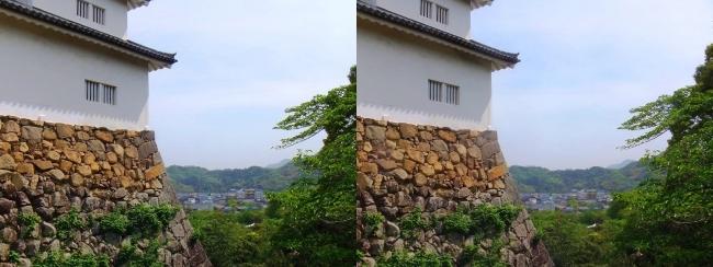 彦根城 天秤櫓③(交差法)