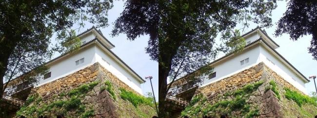 彦根城 天秤櫓①(平行法)