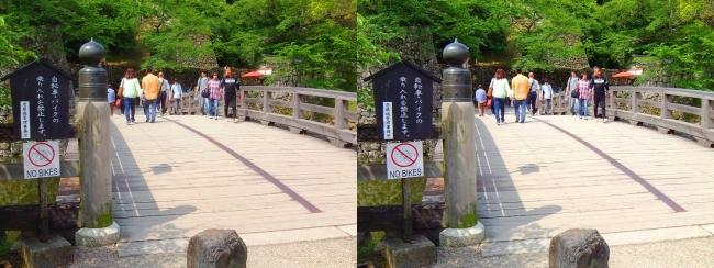 彦根城 表門橋(平行法)