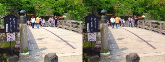 彦根城 表門橋(交差法)