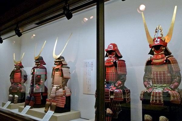 井伊の赤備え(彦根城博物館)