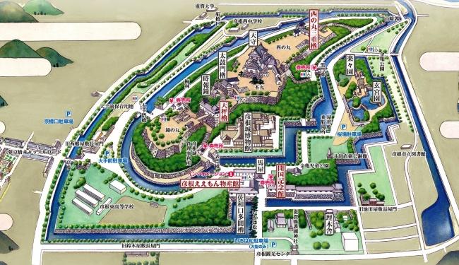 彦根城Map